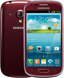 Samsung S3 Mini (On EE) RED Casing