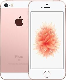 Immaculate 32GB iPhone SE in Rose Gold. Vodafone.
