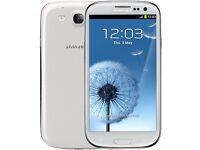 Samsung Galaxy S3 White - o2 and Giffgaff
