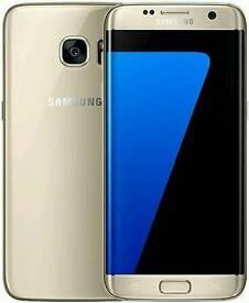 Samsung S7 edge Gold 32gb as bnib