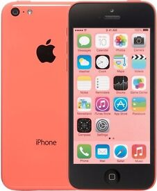 I phone 5c (pink) / 32gb/ fully boxed