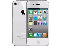 Apple iPhone 4 Factory Unlocked- 8GB -White - Brand NewCondition