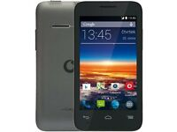 alcatal 785 smart mini, on Vodafone network, £25 fixed price