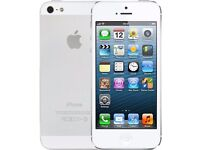 16 GB iPhone 5 (white) Unlocked all networks