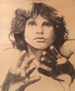 Beautiful sketch of Jim Morrison