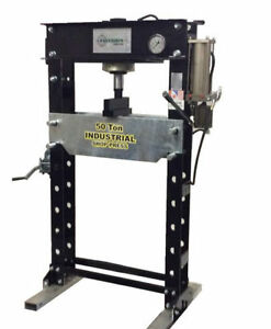 Precision Power Tools - 50 Ton Air/Hydraulic Shop Press