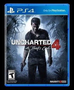 Uncharted 4 (Sealed) - Trade or $45