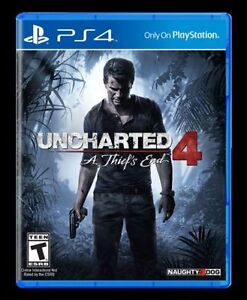 Brand new unopened Uncharted 4 & Overwatch for PS4 - $55 each