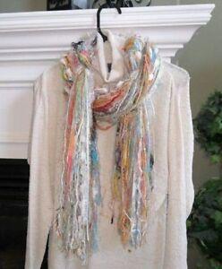 Handmade Tassel style woman's scarf Kitchener / Waterloo Kitchener Area image 3