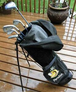 Youth Teen 6 Piece Fully Matched PARADISE Right Hand Golf Set VG
