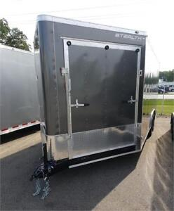 NEW 2018 STEALTH 8.5X25 ENCLOSED COMBO SLED CAR HAULER