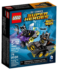 LEGO Super Heroes Mighty Micros Série 1 Ensemble complet de 6