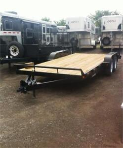 7x18 3 1/2 Ton Open Car Haulers - Premium Quality & Features