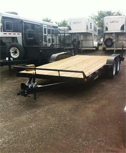 Premium Quality Open Car Haulers 7x18 $4095