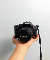 AVAILABLE -- Canon DSLR Camera -- MINT CONDITION