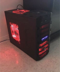 Desktop computer gamer 8cores/16gb ram /1050gtx ti 4gb