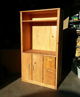 WOOD SHELF - Entertainment Unit