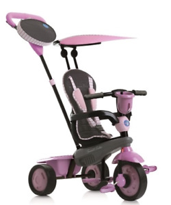 Tricycle Smartrike 3 en 1 Rose pour bambin