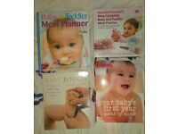 baby/toddler weaning, baby massage and parenting book.