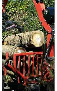 SALE!6.5 bush/load dry hrdwd firewood logs del anywhere in ON!!