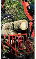 Dry hardwood firewood logs 6.5bush 19face save $ 1100
