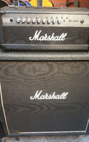Amplificateur Marshall complet tete+ cab