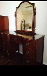 Mahogany Vanity or Desk