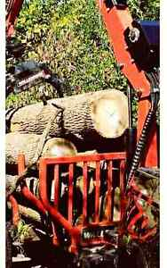 Dry hardwood firewood logs 6 bush/load delivery incl!
