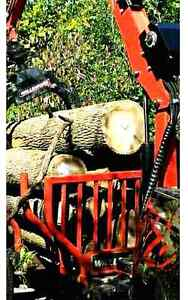 Dry hardwood firewood logs 6 bush/load delivery included