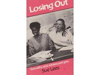 Losing Out: How Girls Become Wives [Jun 12, 1986] Lees, Sue …