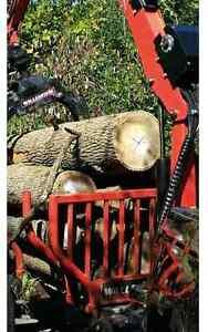 SALE!!Dry hardwood firewood logs 6.5bush 19face delivered