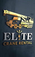 Mobile Crane / Boom Truck / Flat Bed rental / Man Basket