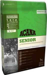 2 New Bags of Acana Senior Dog Food