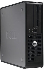 Mini Boitier d Ordinateur Dell Optiplex 755 Core2 Duo Windows 7