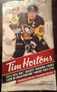 Tim Horton's Upper Deck 2015-16 Hockey Cards (12 card lot)