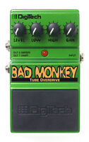 Digitech Bad Monkey Overdrive Pedal (Mint Condition)