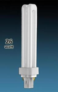 GE F26DBX compact fluorescent lamps (CFL)