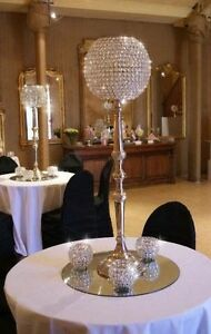 Crystal ball Candelabra Northgate Port Adelaide Area Preview