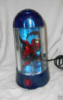 MARVEL 2001 Collectible Spider-man Motion Lamp Light