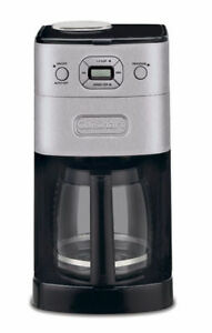 NEW: CUISINART DGB-625BC Grind-and-Brew 12-Cup (REFURBISHED)