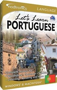 LETS LET'S LEARN PORTUGUESE!! BRAND NEW IN CASE - SEALED