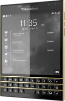 BlackBerry Passport LIMITED EDITION Black & Gold - 32GB - ⓿❺/❺⓿