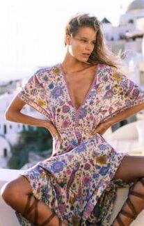 Spell and the Gypsy Collective COPY Lovebird dress chamomile
