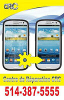 reparation cellulaire samsung LG motorola sony blackberry.......