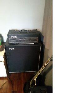 VOX VALVETRONIX AD100VTH 100W GUITAR AMP AMPLI HEAD CAB 4X12