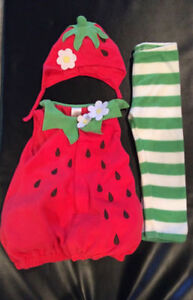 Old Navy Strawberry Costume size 4T-5T