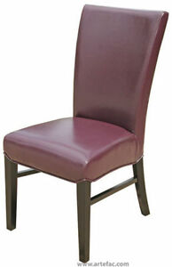 Leather Fabric Parsons Accent Dining Room Kitchen Chairs Stools