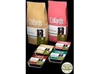 Collards hypo-allergenic dog food - wheat and dairy free - Bulk buy deal to clear