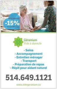 Poste Préposé aux bénéficiaires Montréal-Laval