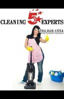 CLEANING Service -CALL or TEXT TODAY (780) 808-1554